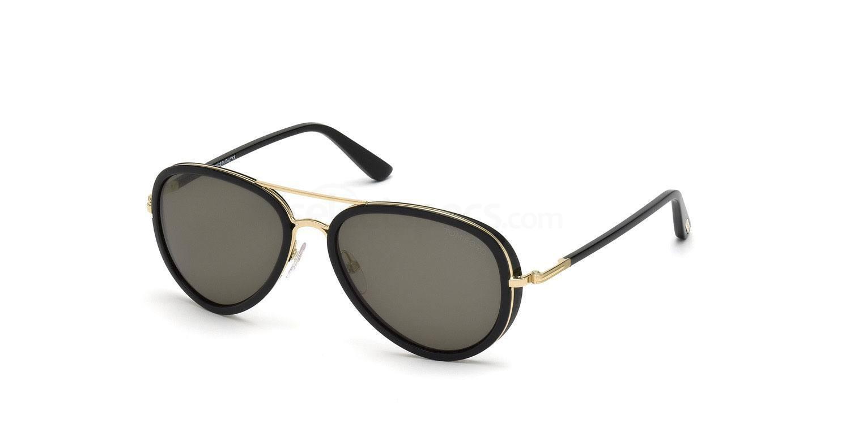 28J FT0341 MILES Sunglasses, Tom Ford
