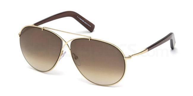 28F FT0374 Sunglasses, Tom Ford