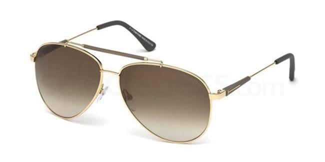 28J FT0378 Sunglasses, Tom Ford