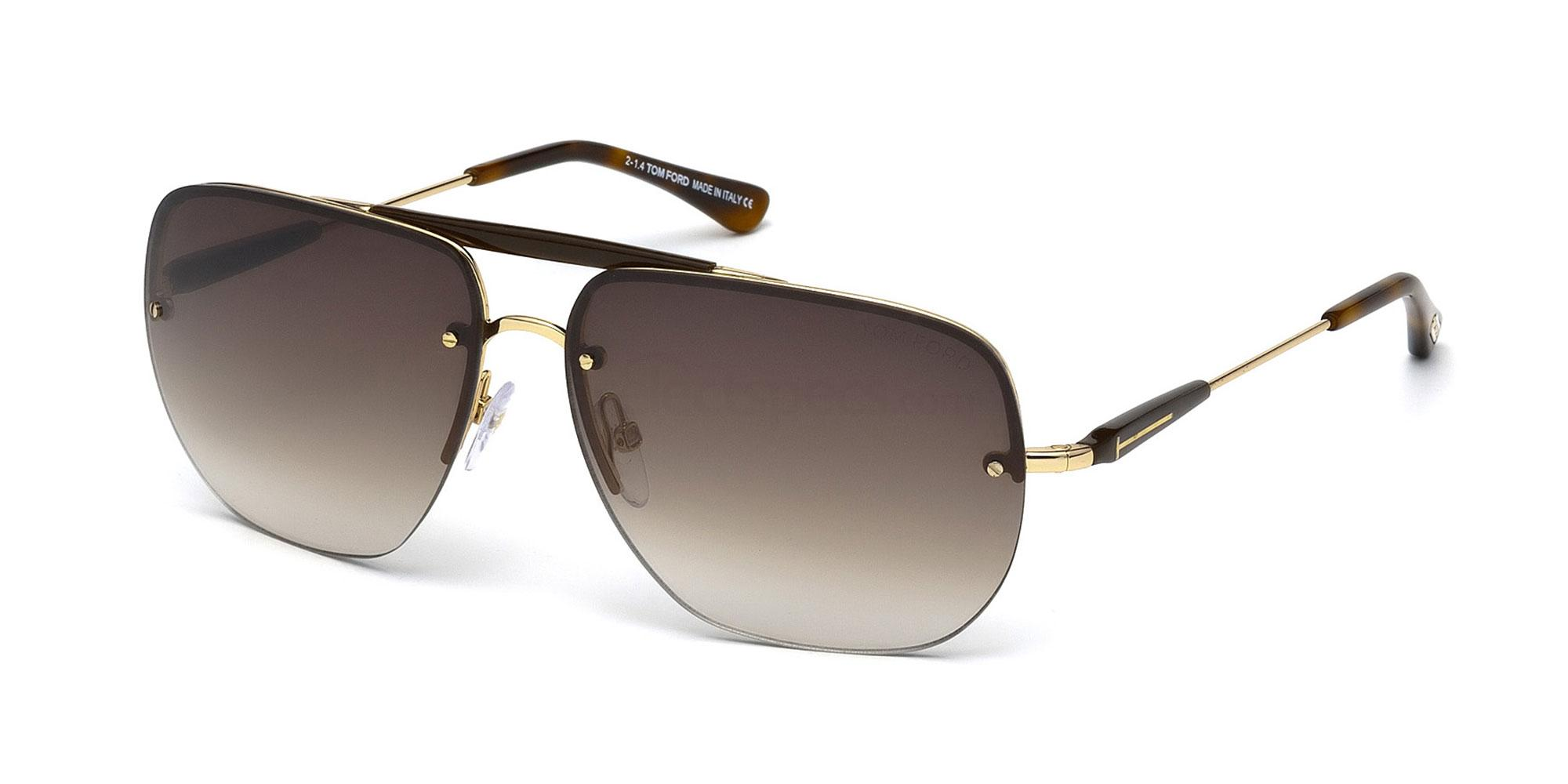 28F FT0380 Sunglasses, Tom Ford