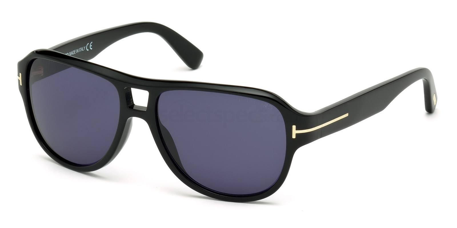 01V FT0446 Sunglasses, Tom Ford