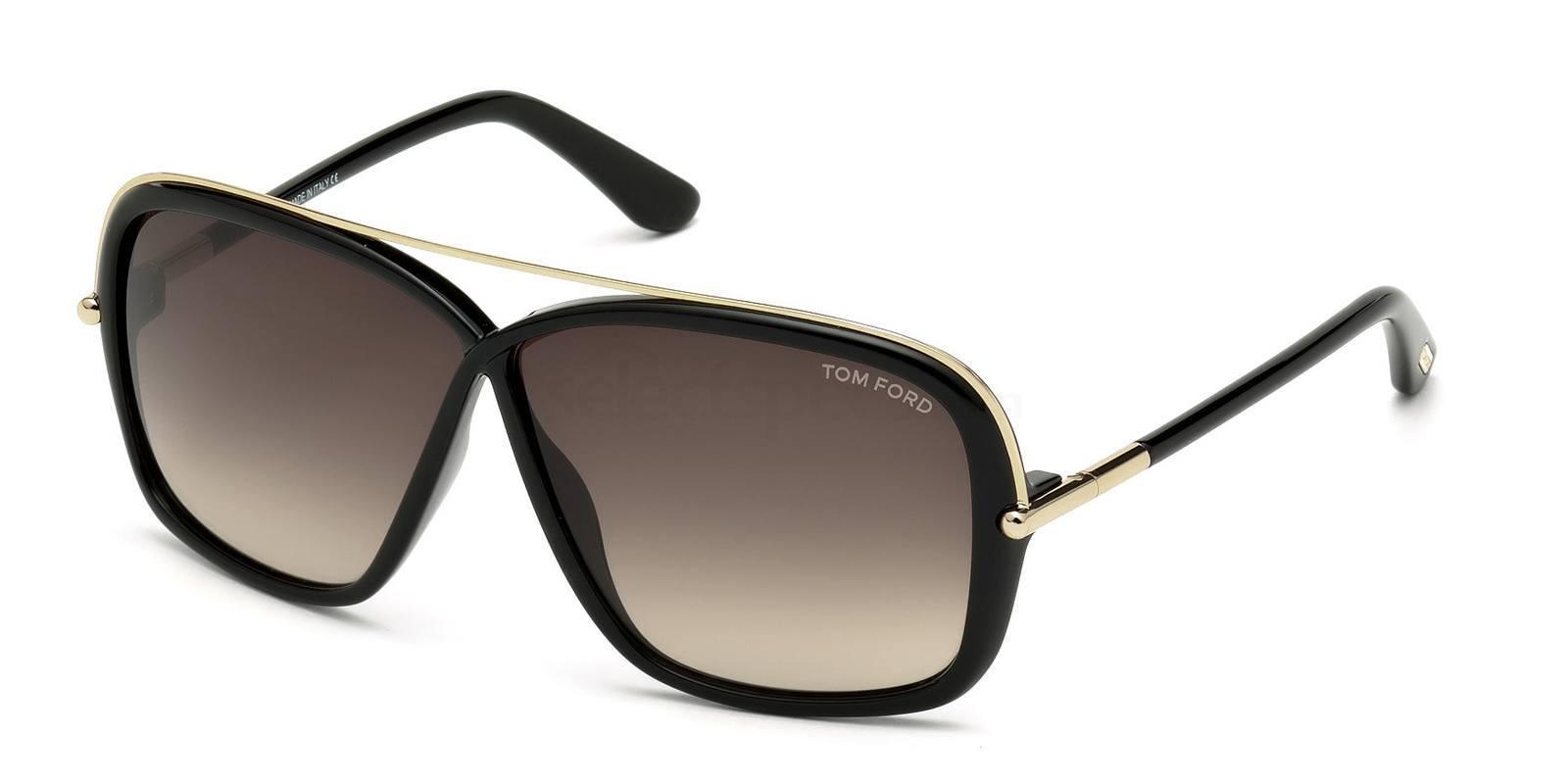 01K FT0455 Sunglasses, Tom Ford