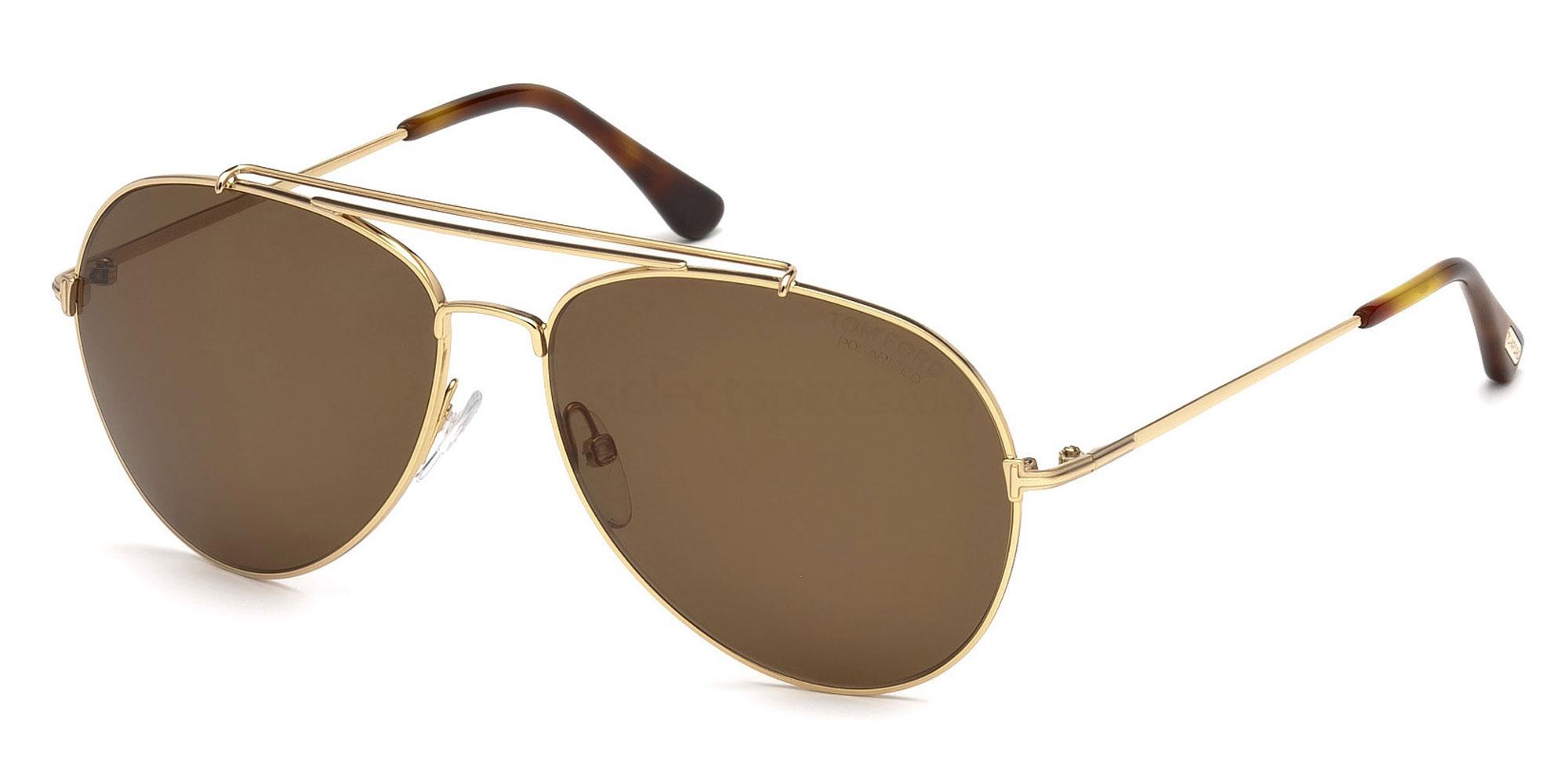 28H FT0497 Sunglasses, Tom Ford