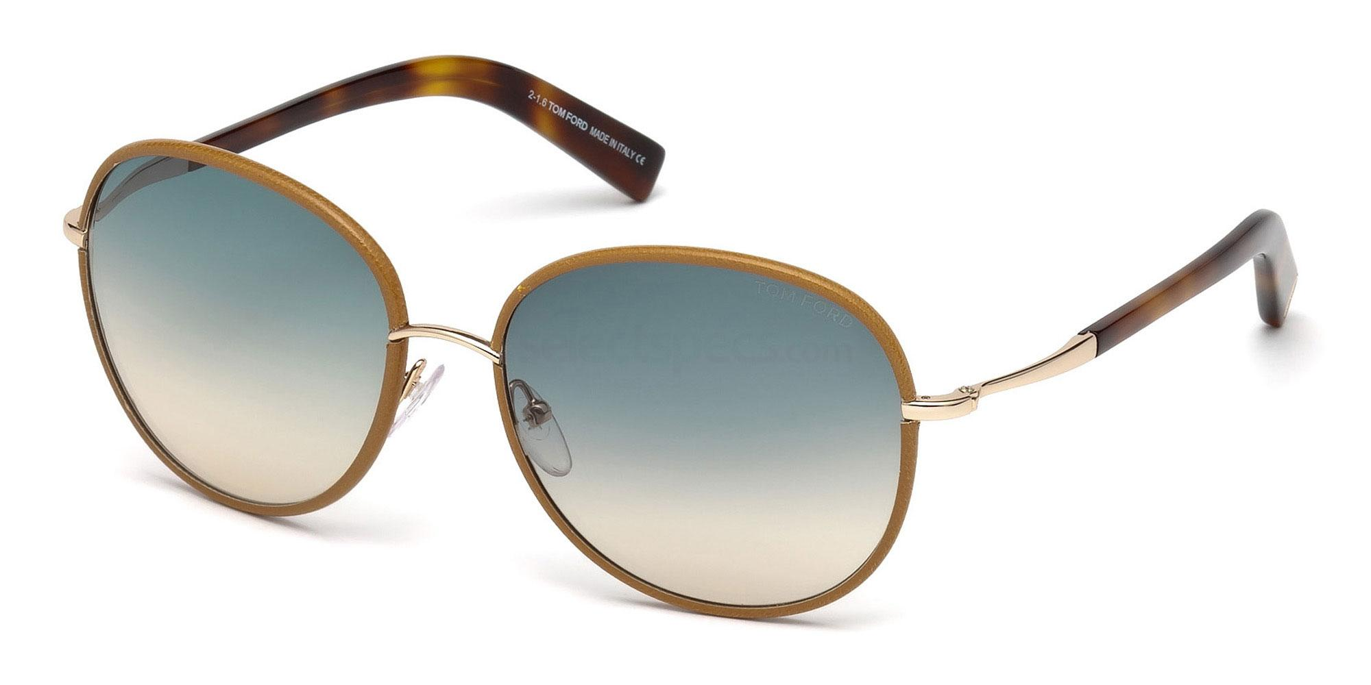 60W FT0498 Sunglasses, Tom Ford