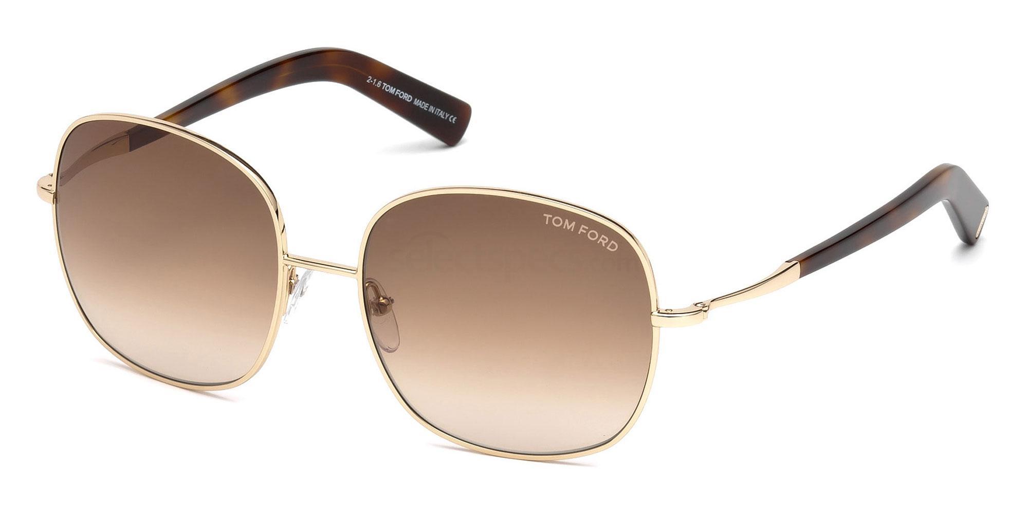 28F FT0499 Sunglasses, Tom Ford