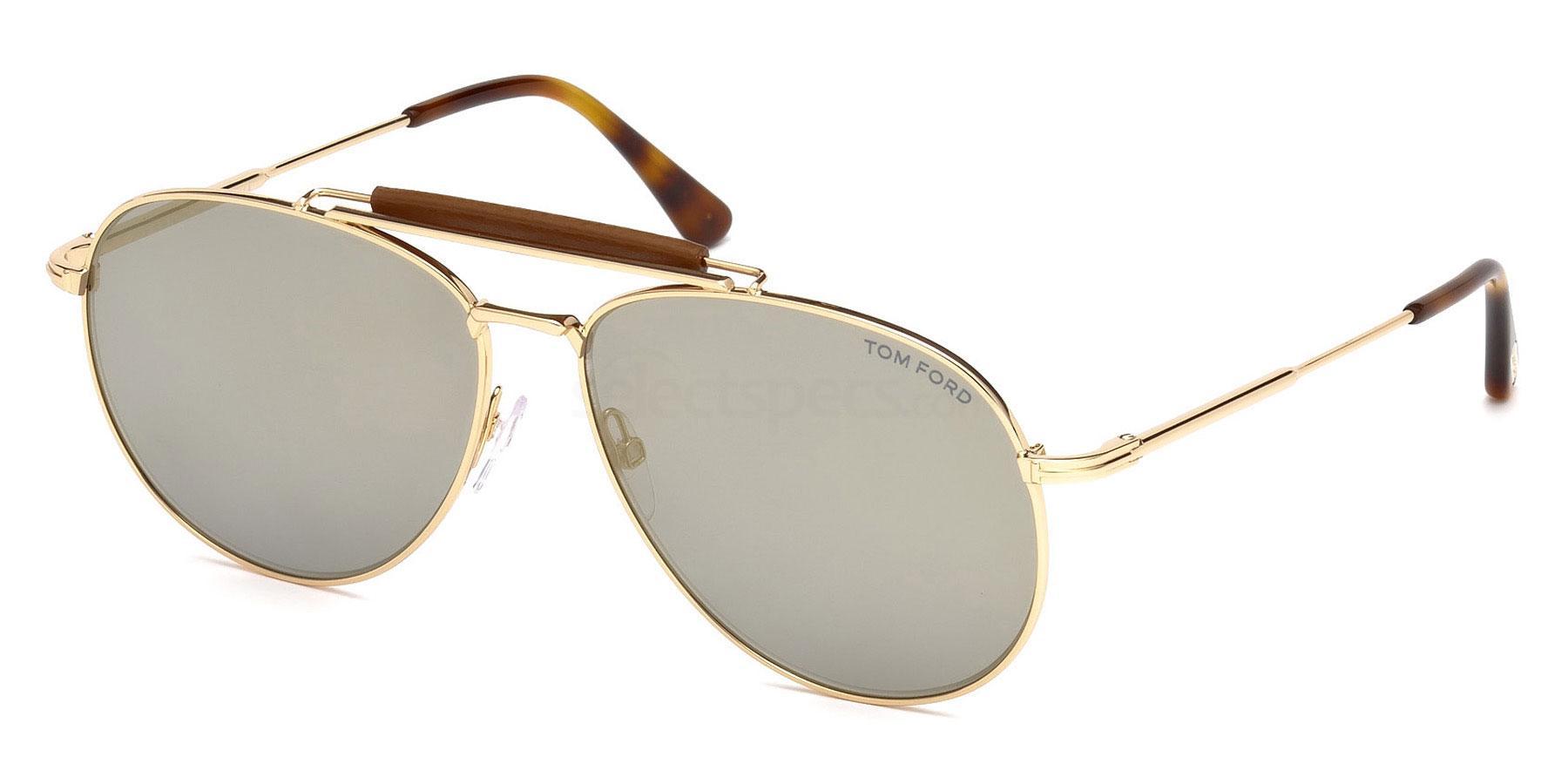 28C FT0536 Sunglasses, Tom Ford