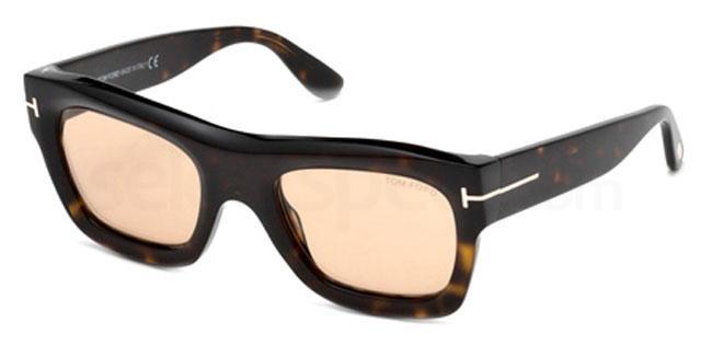 52E FT0558 Sunglasses, Tom Ford