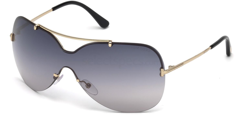 28B FT0519 Sunglasses, Tom Ford