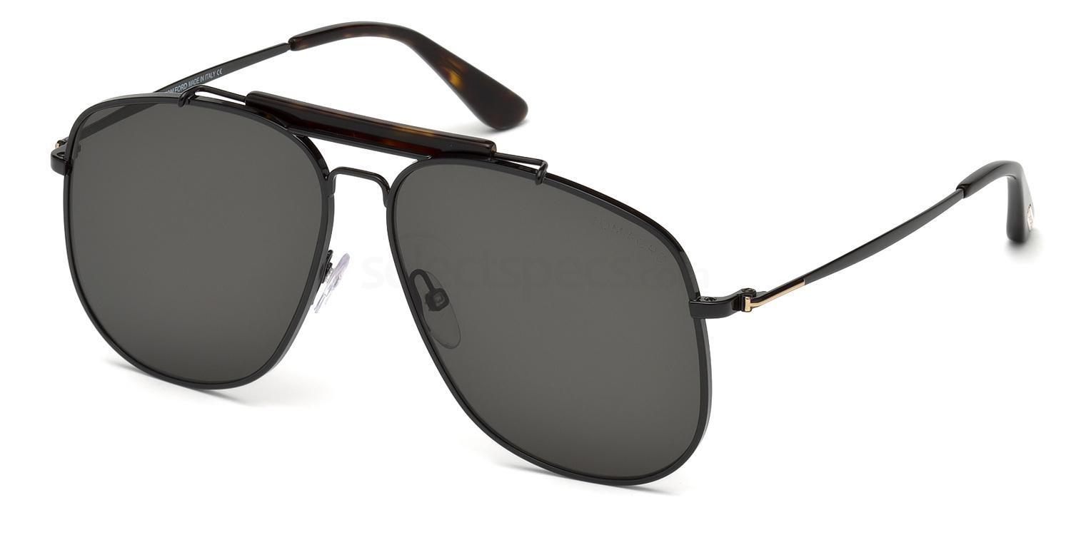 01A FT0557 Sunglasses, Tom Ford