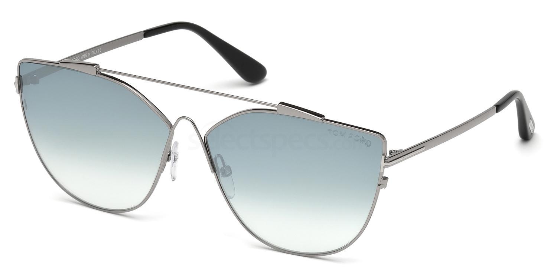 14X FT0563 Sunglasses, Tom Ford