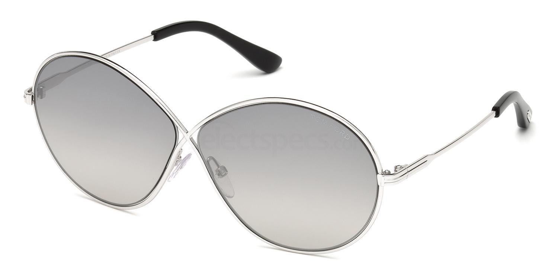 18C FT0564 Sunglasses, Tom Ford
