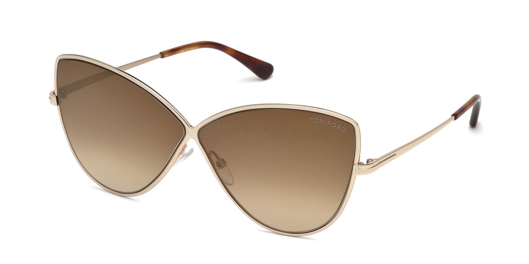 28G FT0569 Sunglasses, Tom Ford