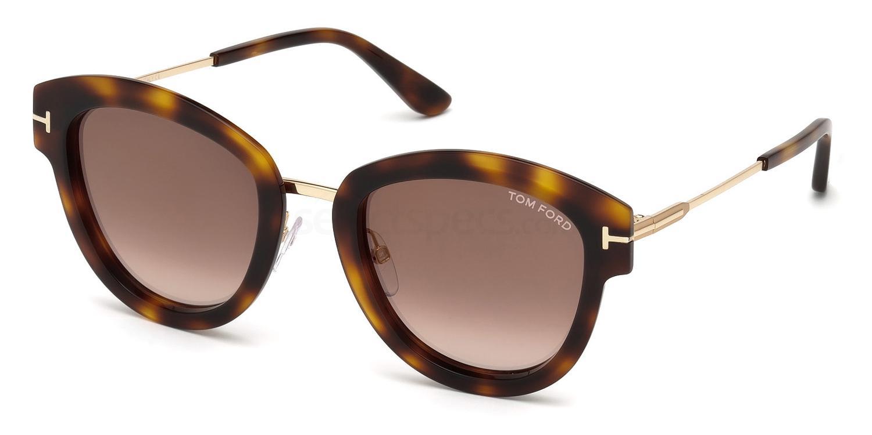 52G FT0574 Sunglasses, Tom Ford