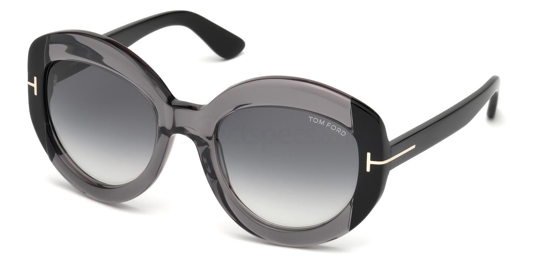 20B FT0581 Sunglasses, Tom Ford