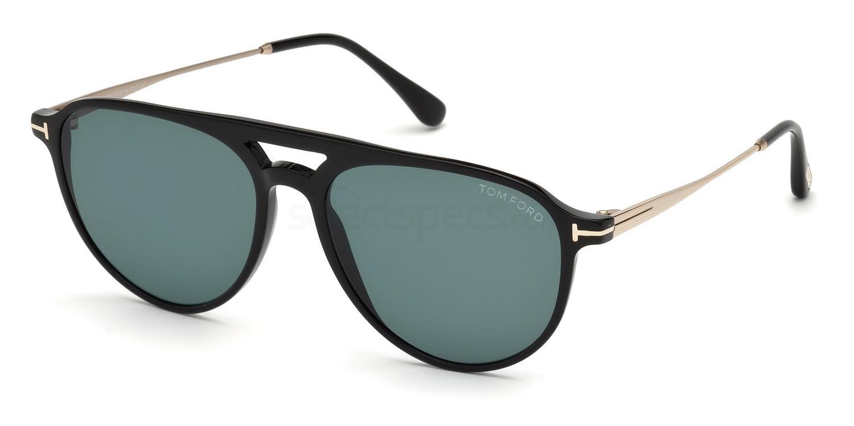 01V FT0587 Sunglasses, Tom Ford