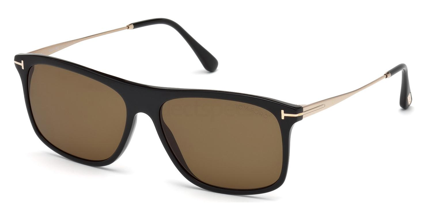 01E FT0588 Sunglasses, Tom Ford