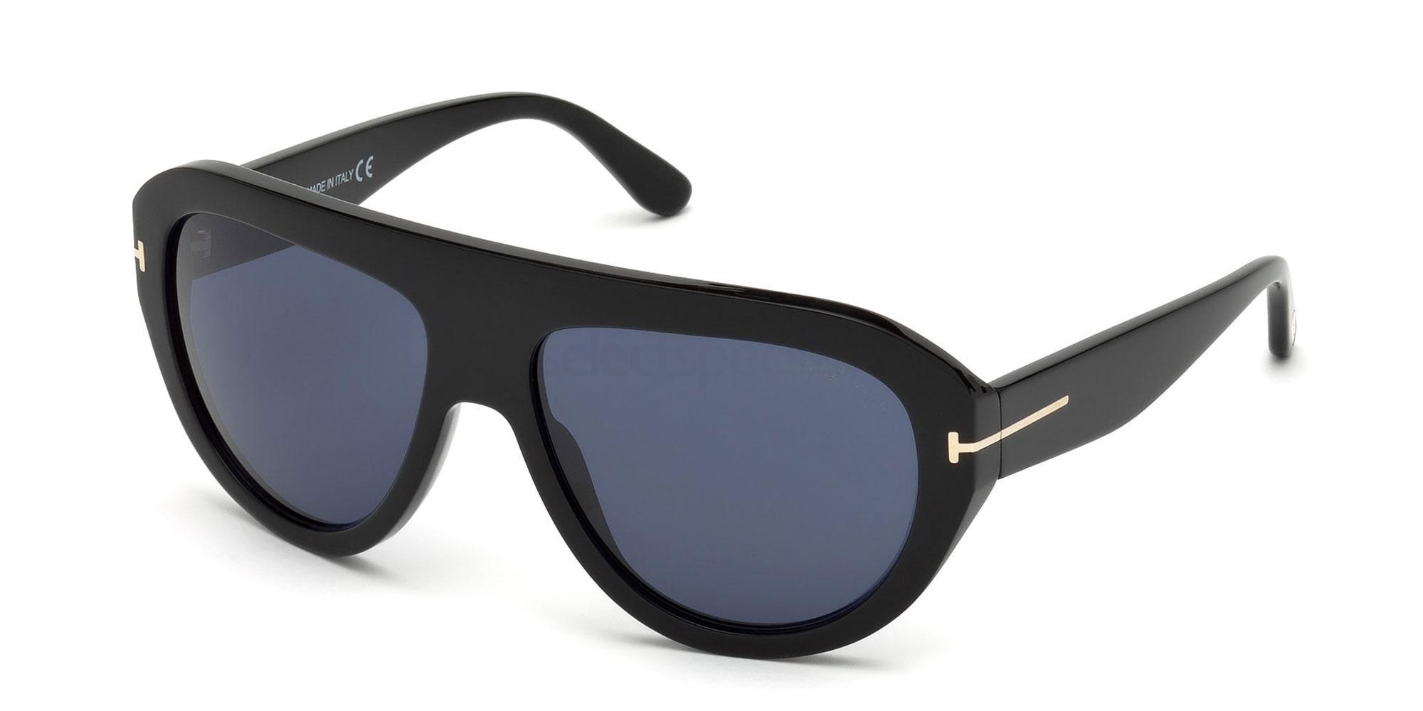 01V FT0589 Sunglasses, Tom Ford