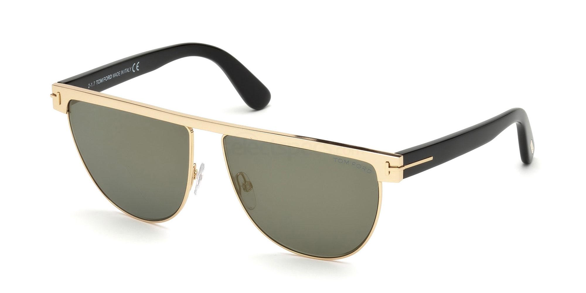28C FT0570 Sunglasses, Tom Ford