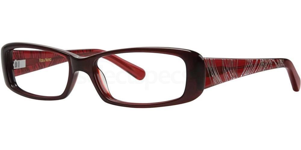 Burgundy V044 Glasses, Vera Wang