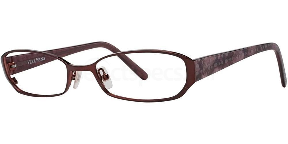 Red V047 Glasses, Vera Wang