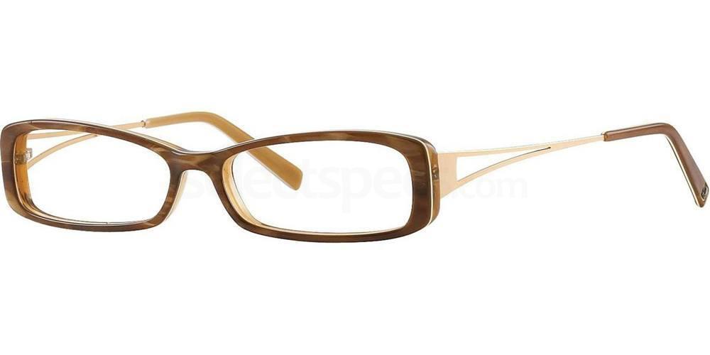 Brown Pearl V135 Glasses, Vera Wang