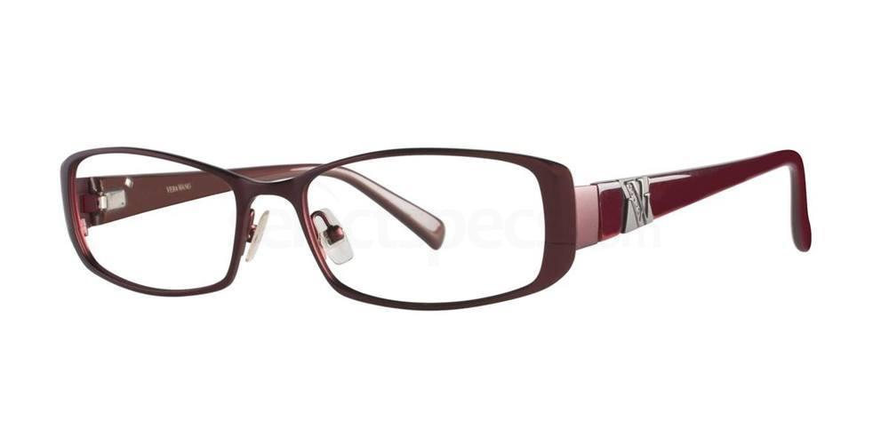 Burgundy V082 Glasses, Vera Wang