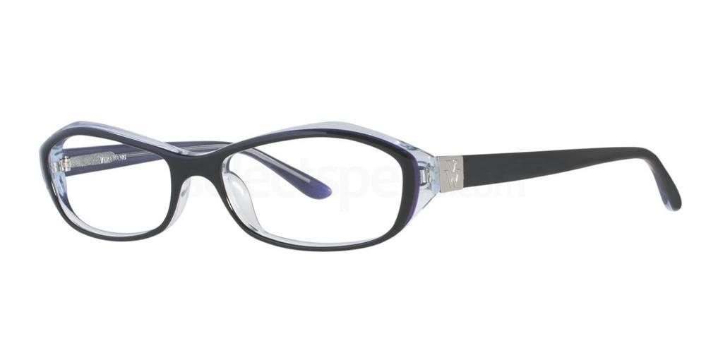 Black V086 Glasses, Vera Wang