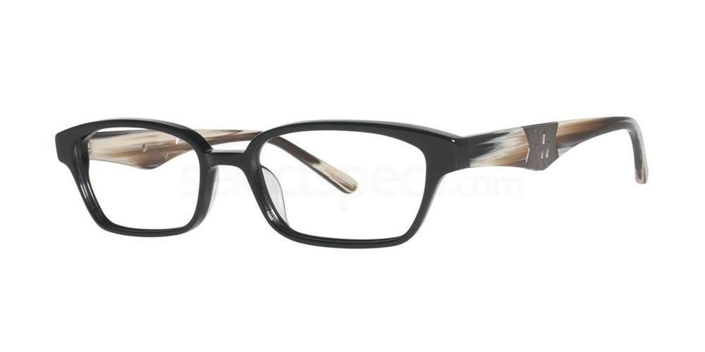 Black V087 Glasses, Vera Wang