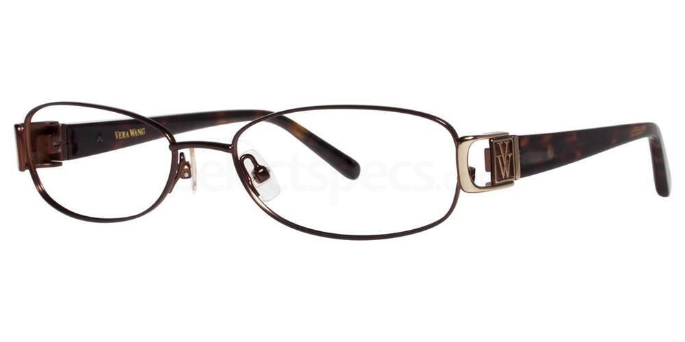 Brown V093 Glasses, Vera Wang