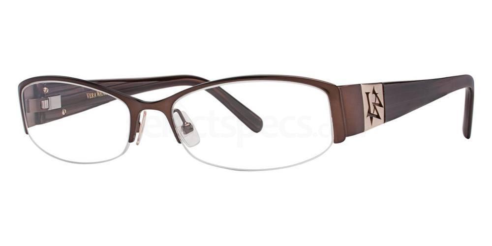 Brown V056 Glasses, Vera Wang