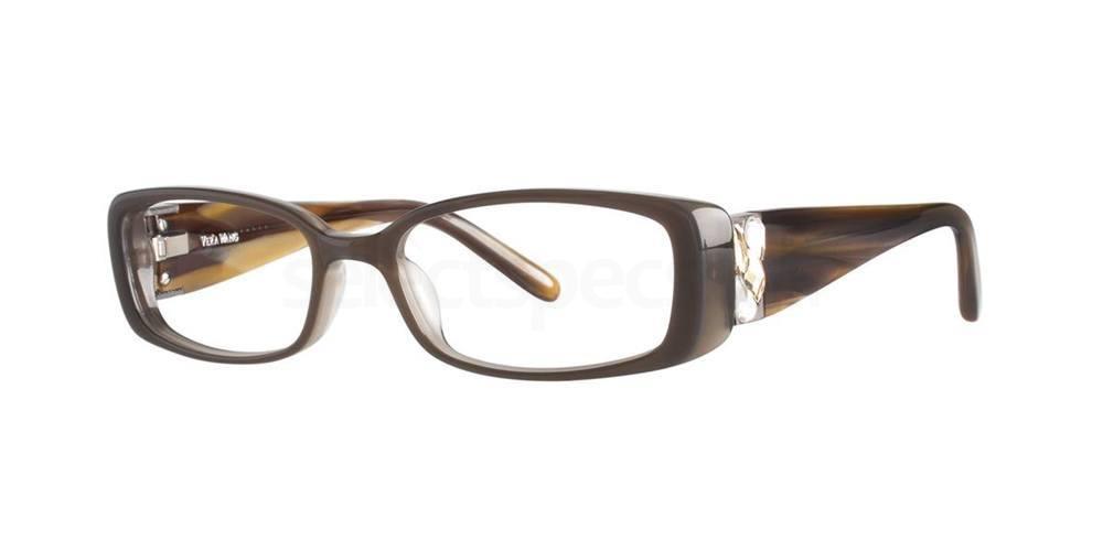 Brown V068 Glasses, Vera Wang