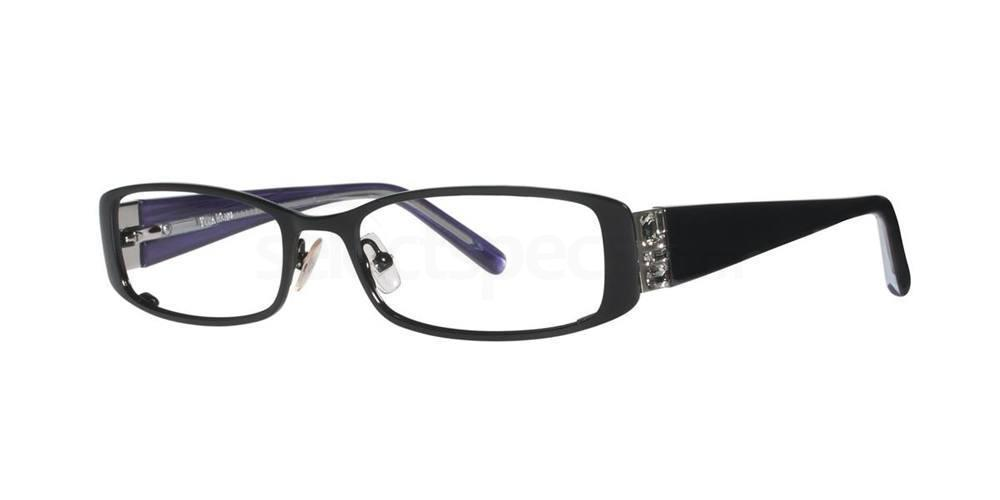 Black V075 Glasses, Vera Wang
