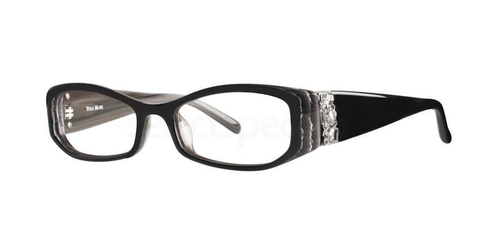 Black V077 Glasses, Vera Wang