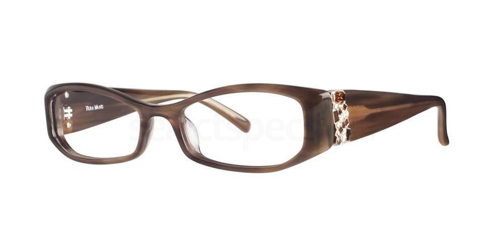 Brown V077 Glasses, Vera Wang