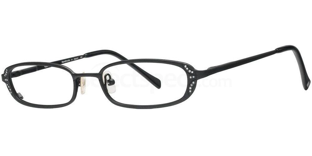 Black Satin V154 Glasses, Vera Wang