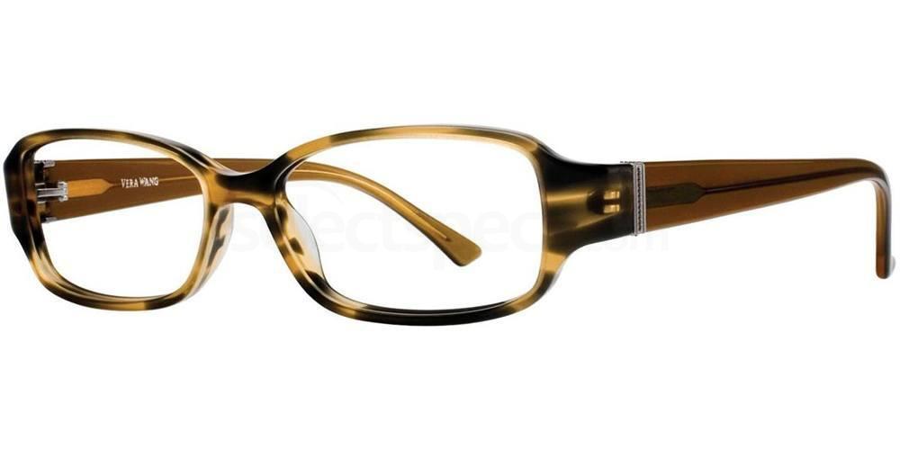 Cognac V166 Glasses, Vera Wang