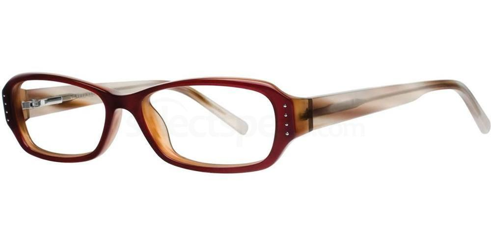Burgundy V167 Glasses, Vera Wang