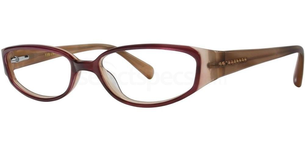 Burgundy V179 Glasses, Vera Wang