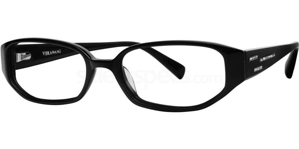 Black V180 Glasses, Vera Wang