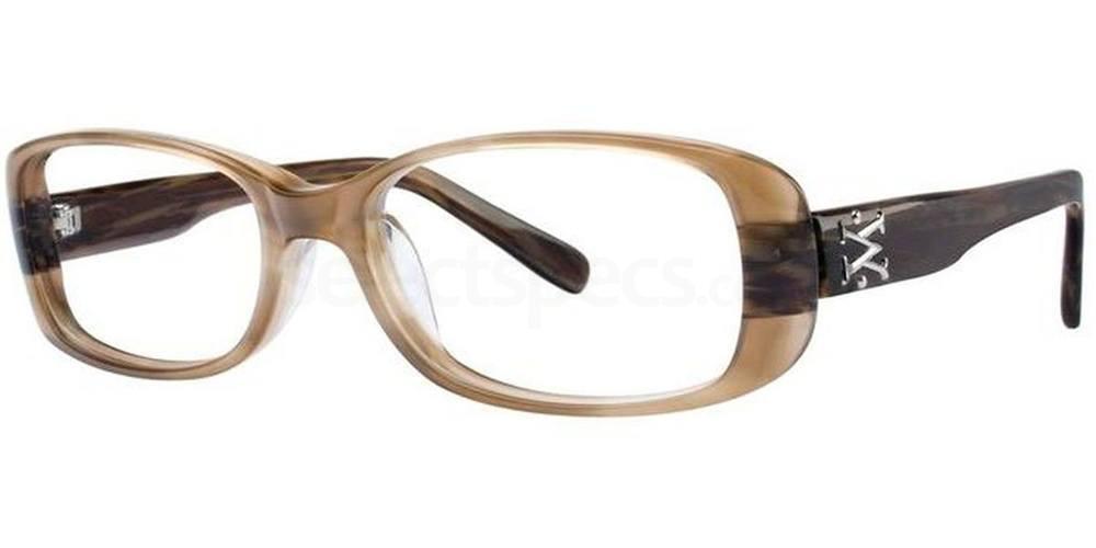 Mink Horn V183 Glasses, Vera Wang