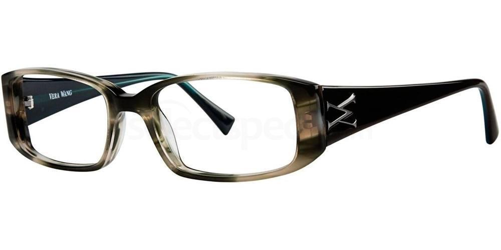 Olive Horn V193 Glasses, Vera Wang