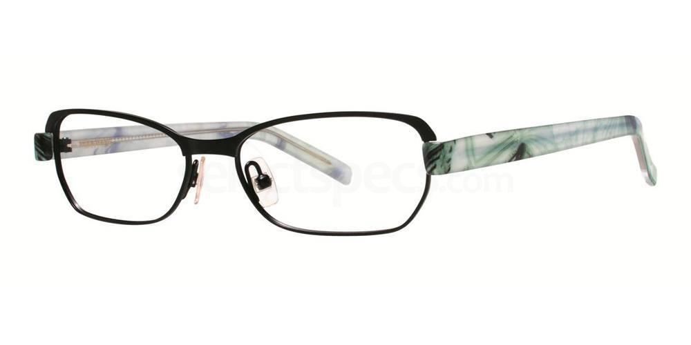 Black Satin V301 Glasses, Vera Wang