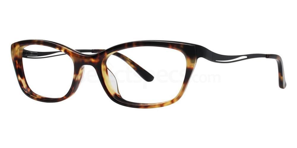 Black Tortoise V332 Glasses, Vera Wang