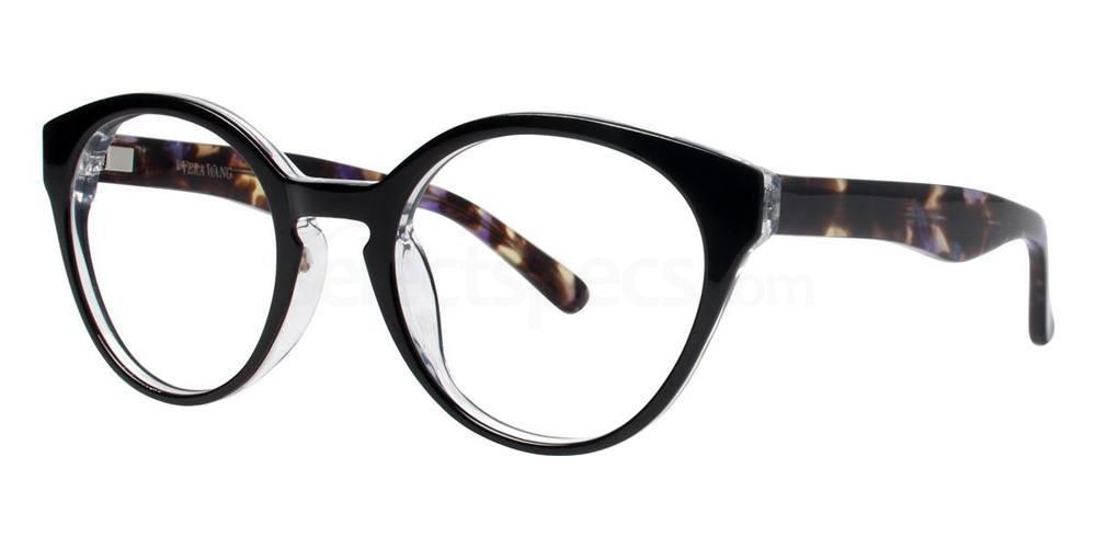 Black V333 Glasses, Vera Wang