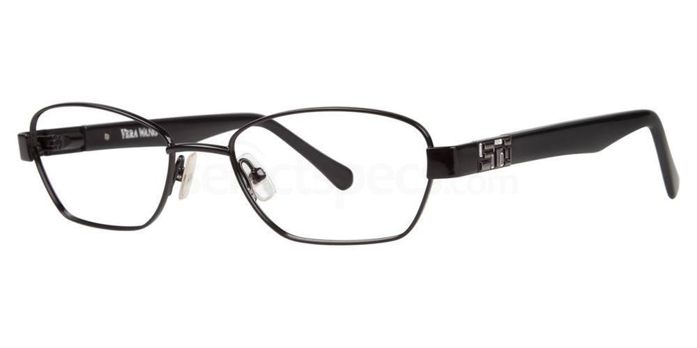Black V335 Glasses, Vera Wang