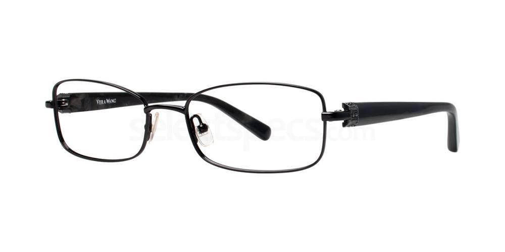 Black V336 Glasses, Vera Wang