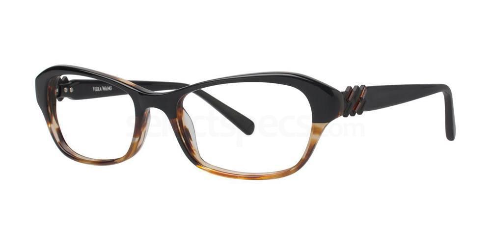 Black Tortoise V338 Glasses, Vera Wang