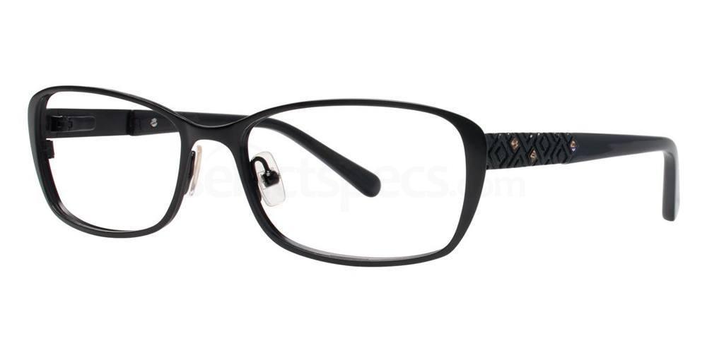 Black V341 Glasses, Vera Wang