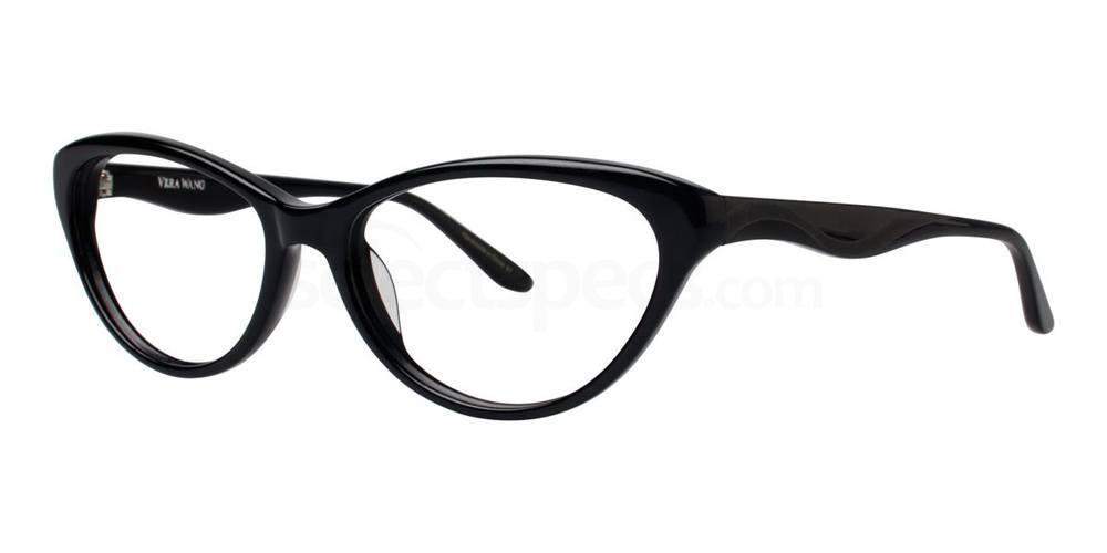 Black V346 Glasses, Vera Wang