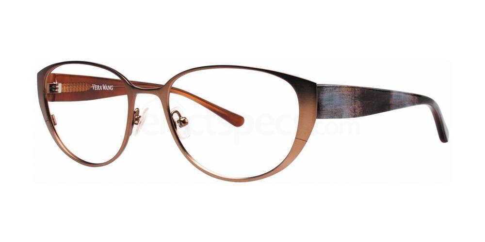 Chocolate V304 Glasses, Vera Wang